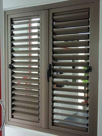 Resultado de imagen para ventanas de aluminio color madera