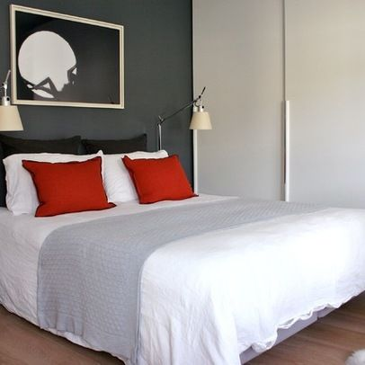 best 25 grey red bedrooms ideas on pinterest