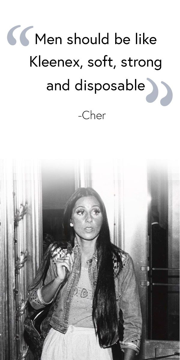 Wise words from Cher