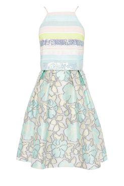 Coast pastel wedding guest dresses Piaggi Sequin Dress