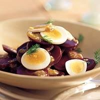 Recept - Bietensalade met walnoten - Allerhande