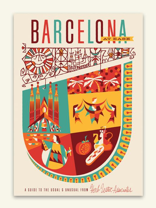 Javier Garcia.Lester Association, Cities Posters, Travel Maps, Graphics Design, Barcelona, Ease Maps, Ea Maps, Travel Guide, Herbs Lester