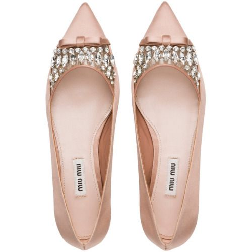 Miu Miu Ballerina found on Polyvore featuring shoes flats...