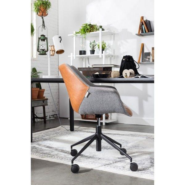 Zuiver Doulton Office bureaustoel. In deze #bureaustoel wordt studeren of werken weer leuk! #Zuiver #bureaustoelen #design #Flinders