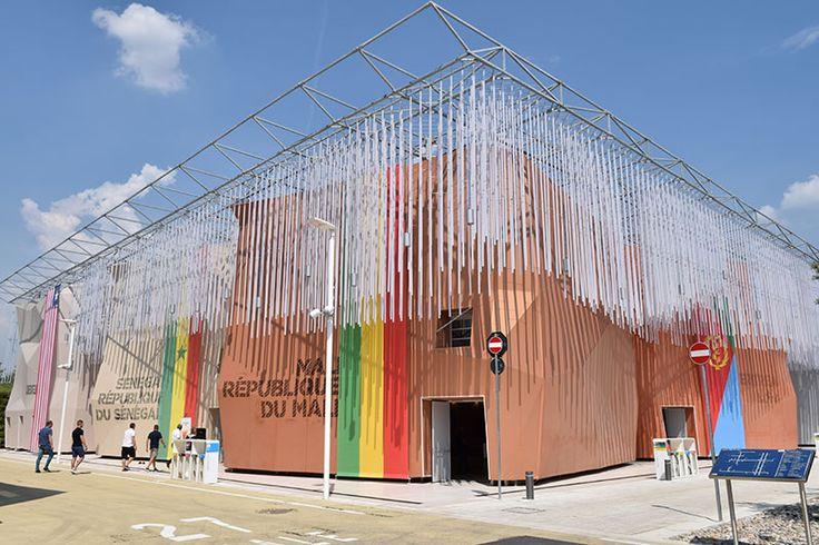 Arid zones pavilion at Expo Milan 2015 #raiexpo #expo2015 #italy #milan #worldsfair #architecture #arid #pavilion #desert
