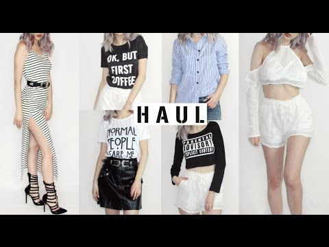 Try-On Haul #1 | NA-KD, AX Paris, Zaful | Venetia Kamara - YouTube