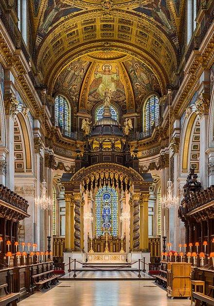 St Paul's Cathedral High Altar, London