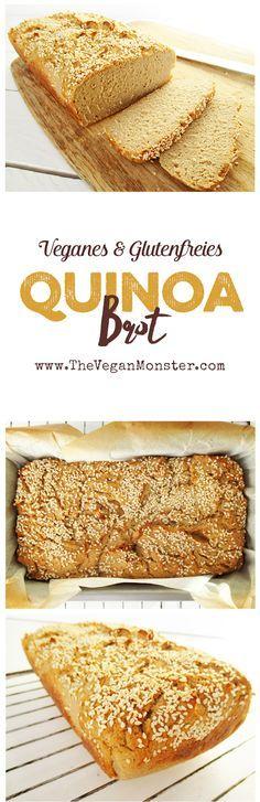 Veganes Glutenfreies Hausgemachtes Quinoa Brot Ohne Öl Rezept (Healthy Baking Muffins)