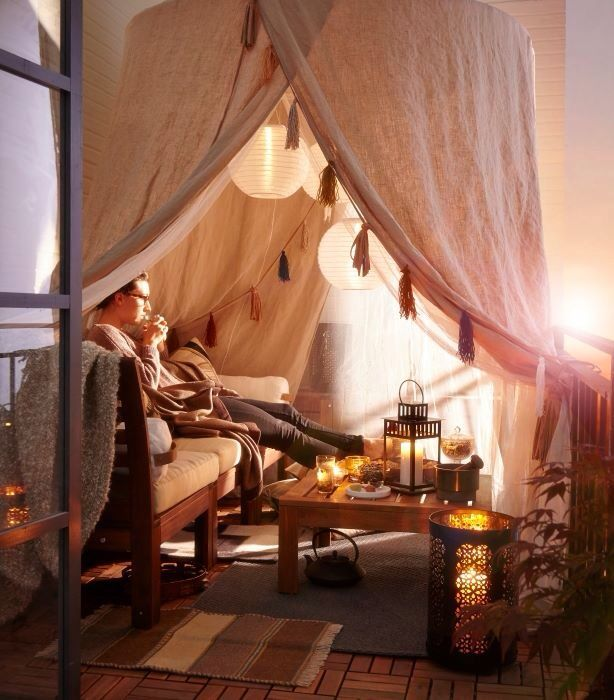 """""""Campeggio"""" in salotto"""