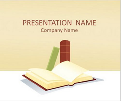 Books Education PowerPoint Templates
