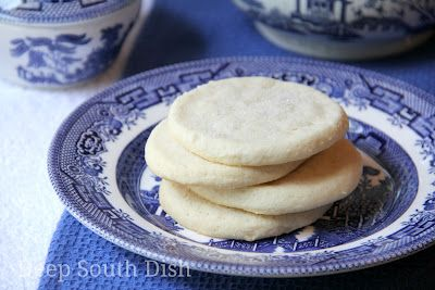 Deep South Dish: Old Fashioned Southern Tea Cakes (sugar cookies)
