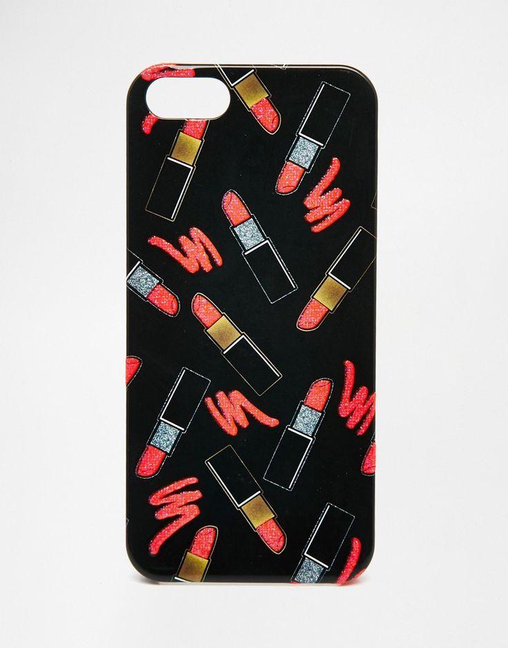 Image 1 - ASOS - Coque motif lèvres pour iPhone 6 et 6s