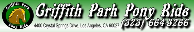 Griffith Park Pony Rides-Horse Riding Los Angeles