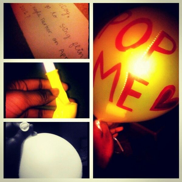 83 best ask to prom images on pinterest dance proposal ask to prom note in a balloon this is cute ccuart Images