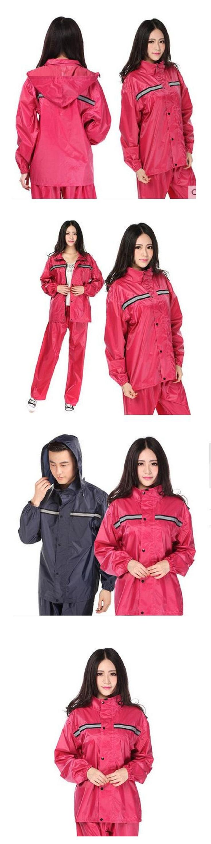 Impermeable Raincoat Women/Men Rainwear 2017 Fashion Hooded Rain Coat Motorcycle/Electrombile Bicycle Raincoat Women/Men