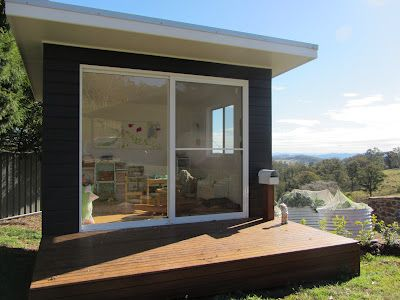 thom haus handmade: A Children's Cubby House Now… and a Room for Grown-Ups Later!