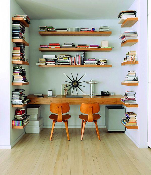 Oh So Lovely Vintage: Bookshelf envy.