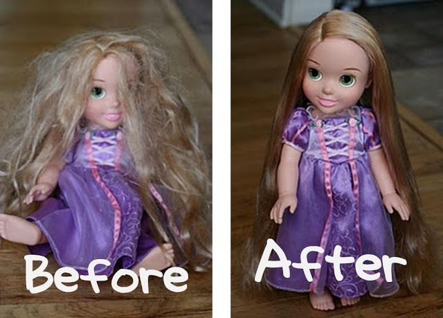 How To Detangle Doll And Barbie Hair. A Must Have For Parents Of Little Girls. #Various #Trusper #Tip