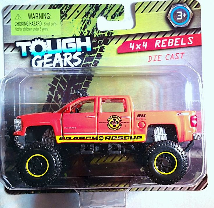 Diecast Manufacturer: Chevrolet Silverado Z71 Crew Cab LTZ Search & Rescue Wolf Canyon Fire Department 4X4 Rebels Monster Truck Maisto Tough Gears 4X4 #Maisto #ToughGears #MonsterTrucks #DieCast #EbayStore #EbaySeller #forsale