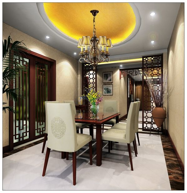 Oriental Chinese Interior Design Asian Inspired Dinning Room Home Decor Interactchina