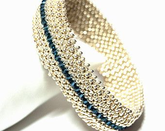 Instructions for Bangle Beading tutorial by njdesigns1 on Etsy