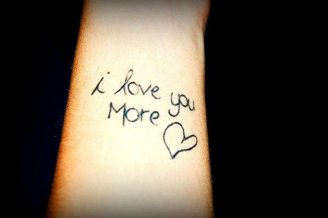 no i love you more