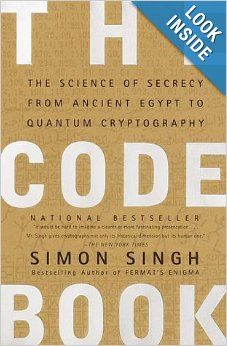 16 best codes ciphers and secret languages images on pinterest on th etbr list the code book the science of secrecy from ancient egypt fandeluxe Choice Image