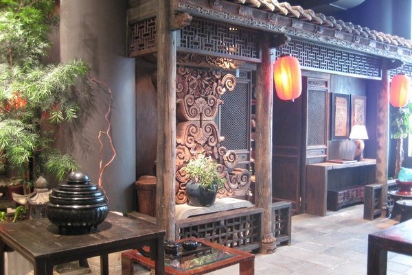 200 year old Chinese courtyard inside The Golden Triangle