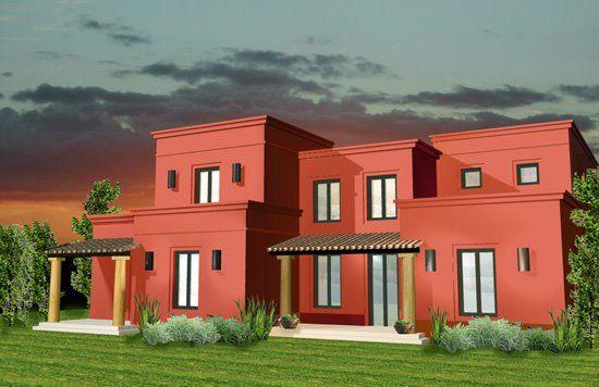 Estilo rustico fachadas rusticas casas pinterest for Fachadas de casas mexicanas rusticas
