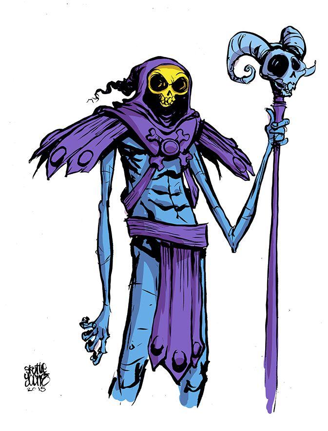 #DailySketch Skeletor Original Sketch available in...