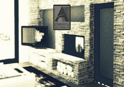 alexiouarchitects: Design ideas: Fireplaces part-03
