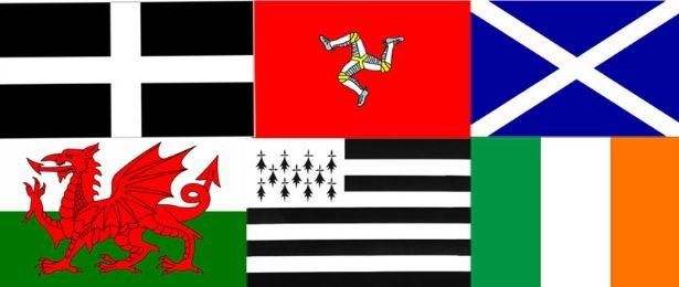 celtic flags