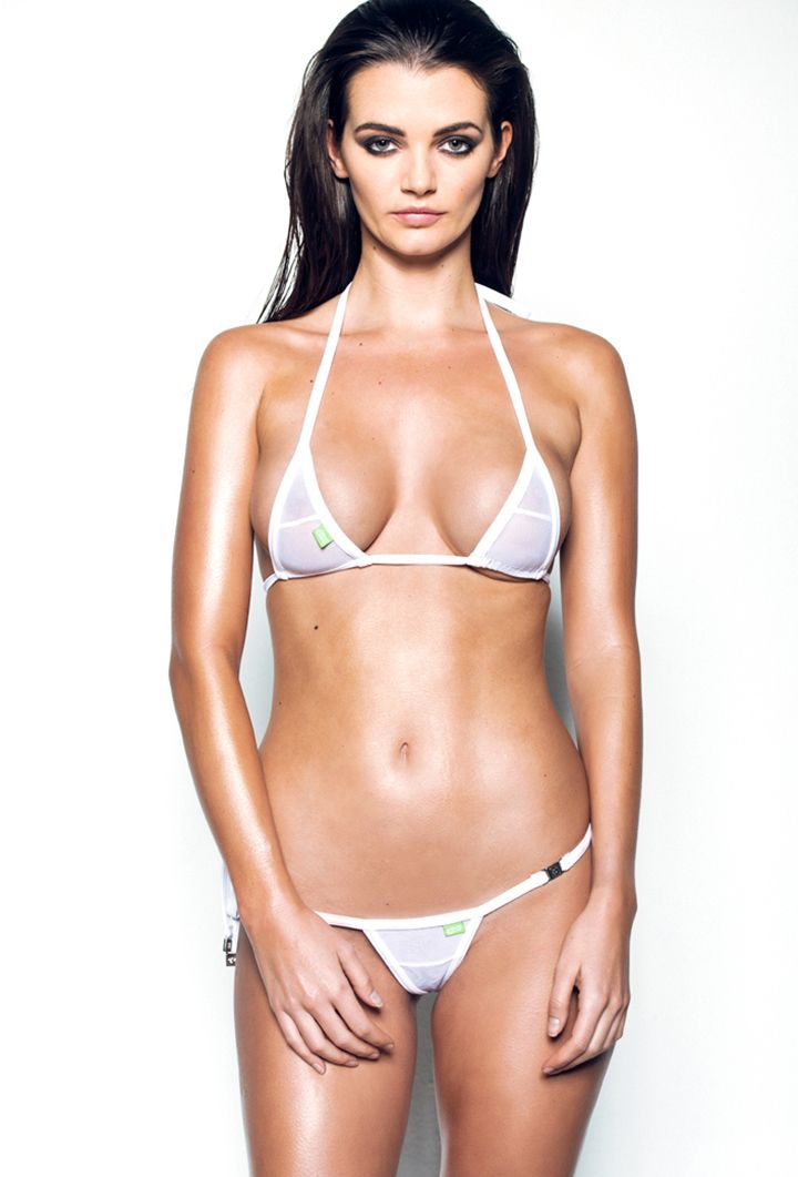 So what make a Weeny Bikini? Weeny uses the highest quality materials, including chlorine safe fabric, cotton inner threads for comfort and polyester outer threads for durability.