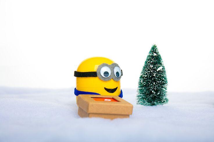 Minions Adventskalender Bastellanleitung #Atongarix #Minions #Adventskalender #Weihnachtskalender #Kalender #Bastellanleitung #Überraschungseier #Ü-Eier