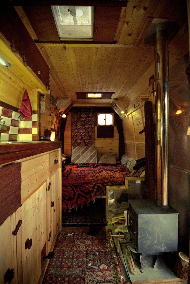 Ford Transit 125 T350 Wooden Living Campervan Ebay