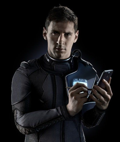 Space-suited Lionel Messi to captain Galaxy 11 in match against aliens | Dirty Tackle - Yahoo Sports