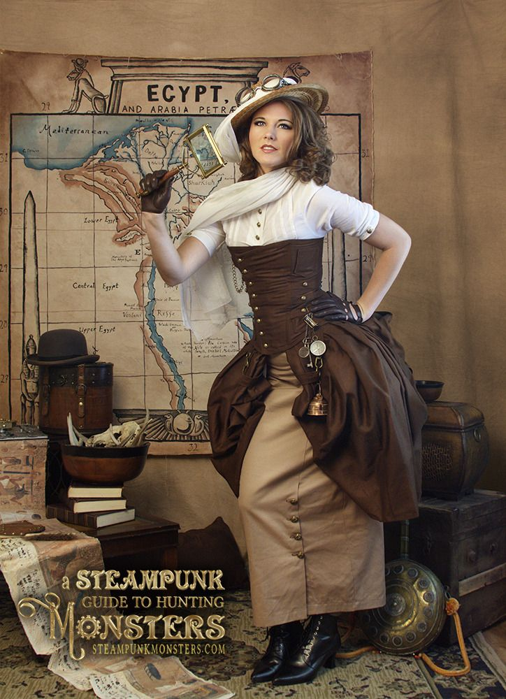 From the free online serial A Steampunk Guide to Hunting Monsters.