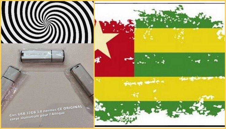 +221 770 947 617 Clés USB 32GB 3.0 pas cher Togo Africa
