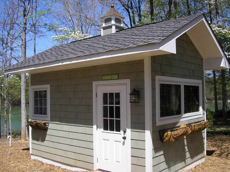 17 best images about garden shed on pinterest backyard for Outside buildings design
