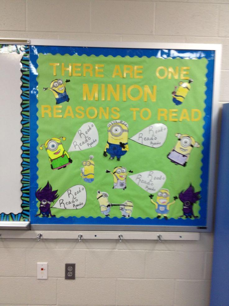 6th Grade Language Arts Classroom Decorations ~ Minions th grade ela and reading boards on pinterest
