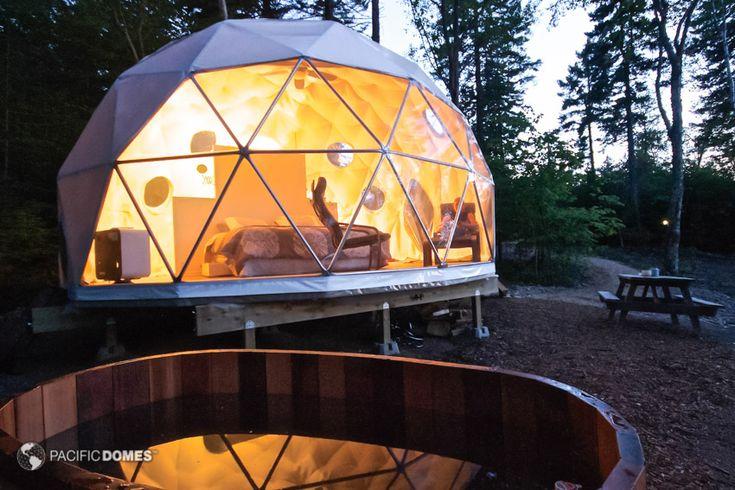 Eco-living Glamping Dome Ridgeback Lodge Dream Dome, Kingston, New Brunswick
