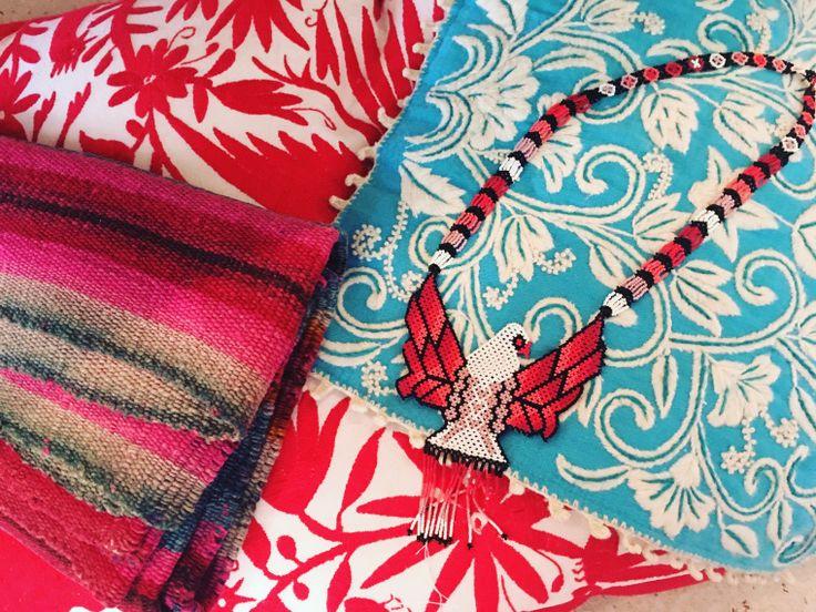 #otomi #embroidery #oaxaca #beaded #jewelry #ethnic #tierrasanta #faena #carolinaK
