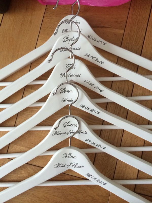 Hangers for Bridal Party