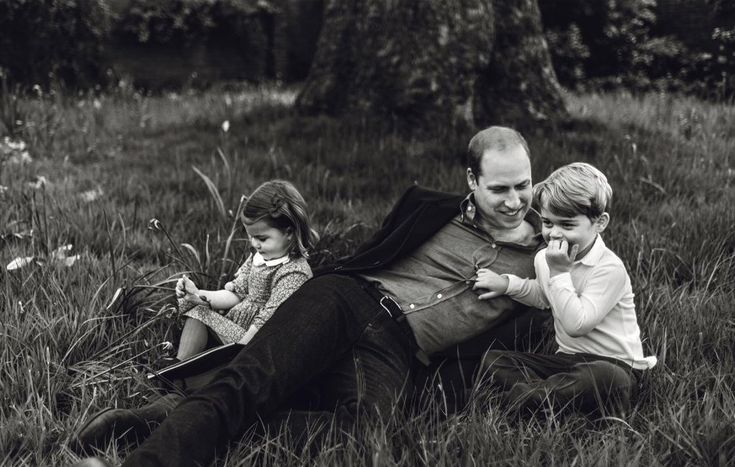 The unveiling of a royal family magazine photo shoot. Yes, Prince William was featured on the cover of the latest issue of British GQ, and, inside the magazine, there are a whole range of photographs of the family at Kensington Palace, which were taken by Norman Jean Roy on April 20, 2017