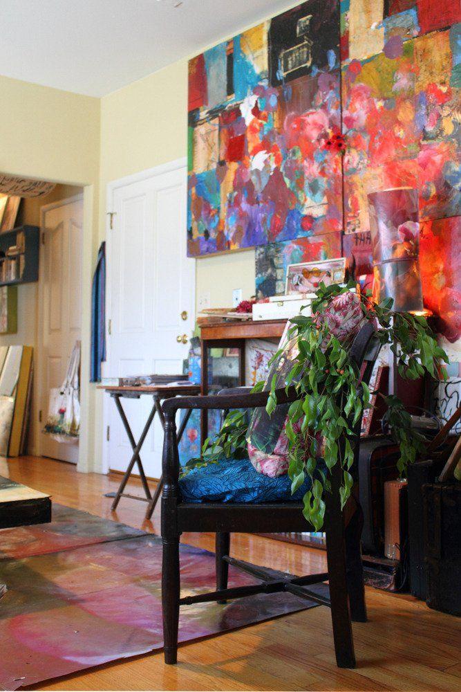 Sabrina Ward Harrison's Creative Space in Silver Lake