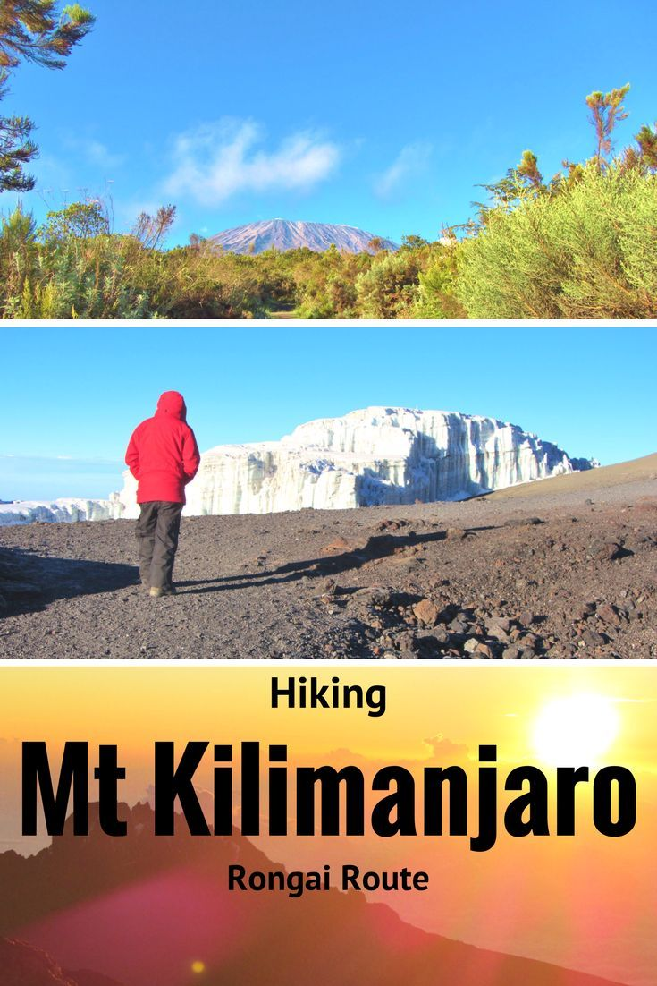 How to climb Africa's highest mountain Mt Kilimanjaro via the Rongai route Includes information about the route, hints and tips for the climb. If you want to climb Mt Kilimanjaro this is the post for you! Tanzania, Africa.