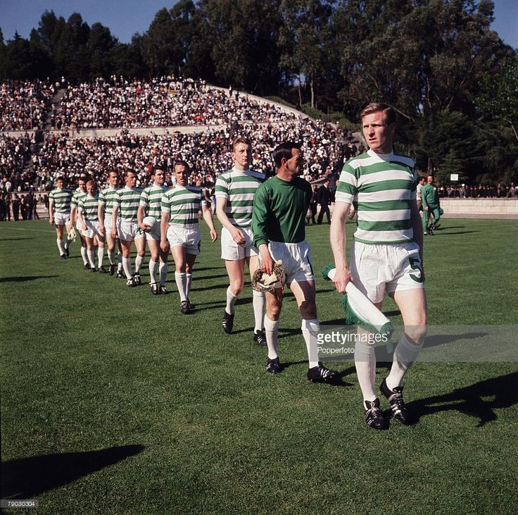 Football 25th May 1967 European Cup Final Lisbon Portugal Celtic 2 v... News Photo | Getty Images