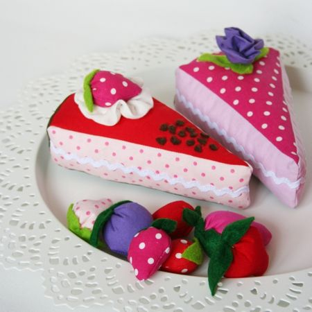 selbst genähter Kuchen