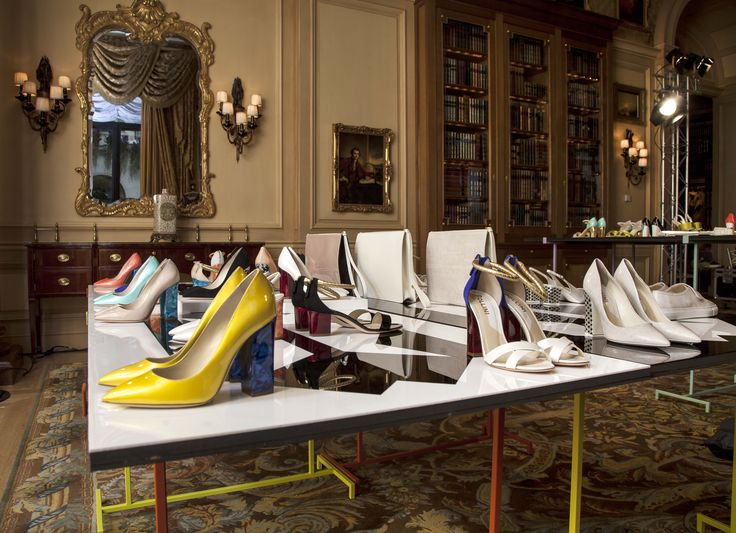 The Pollini Spring/Summer 2014 Collection on display in Paris