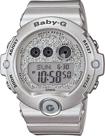 G-Shock Baby-G BG6900SG-8 Super Glitter Silver Watch at Zumiez : PDP